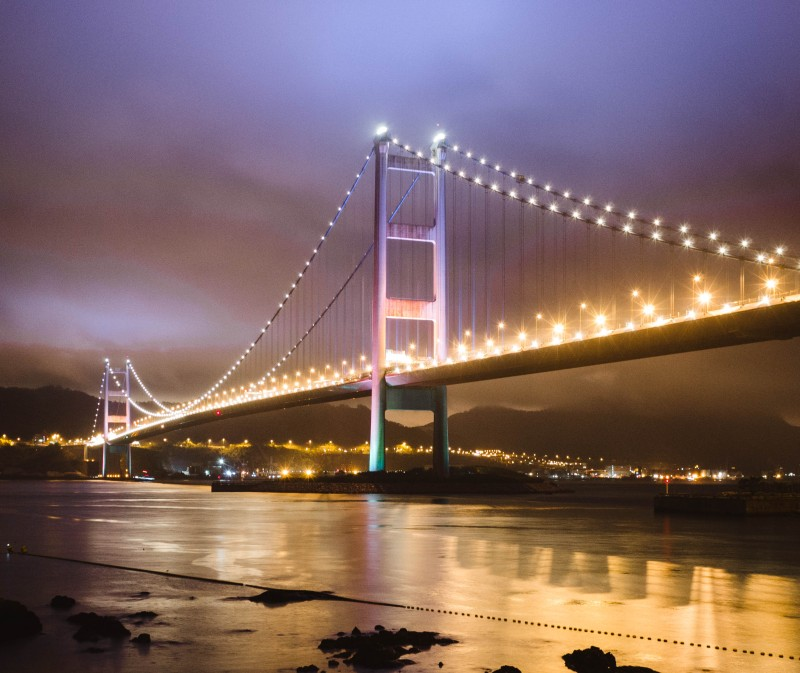 Tsing Ma Bridge, Hong Kong by Belinda Jiao Photography